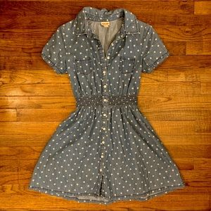 Mossimo Star-Spangled Fit and Flare Shirt Dress